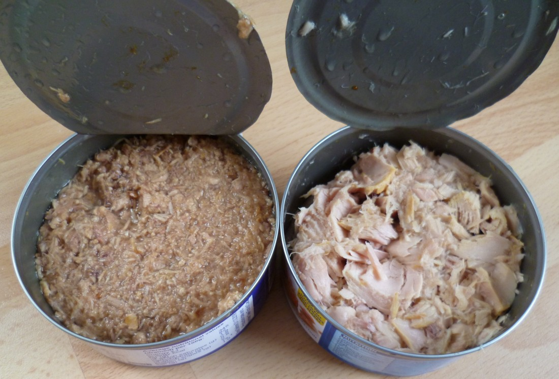 tuna flakes vs tuna chunks
