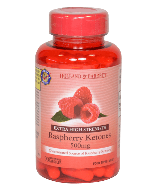 Holland & Barretts raspberry ketones