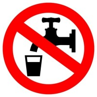 warning sign of not drinking water